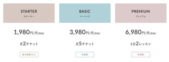 オンラインヨガ「SOELU(ソエル)」の料金
