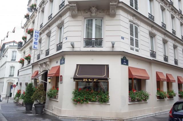 パリの5区にある「ホテル デュ ...